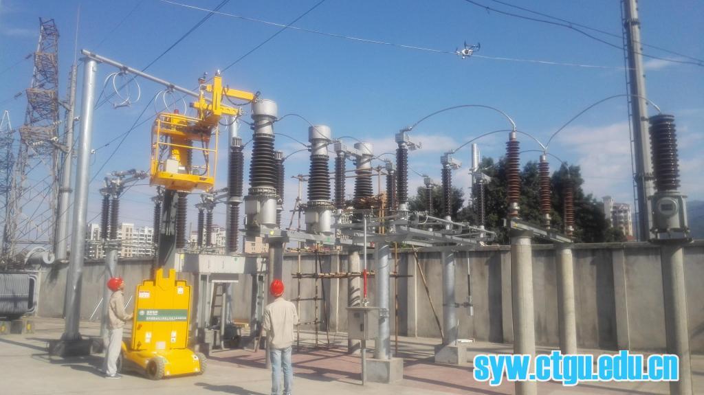 器设备的定位和接线,从而有效缩短了工作时间,避免电力设备长时间停电
